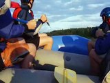 The Class 3 Steps ON the Raft! - Exploits River Rafting (7/24/2010)