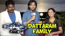 Dattaram & Sarita Get Candid | Ratris Khel Chale | 100 Episodes Celebration | Zee Marathi Serial