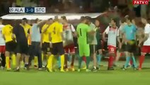 Massive Brawl Erupts In Champions League Qualification Between FC Alashkert And FC Santa Coloma
