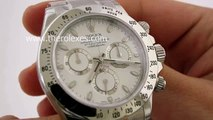 Swiss replica watches replica rolex daytona working chronograph stick markers with meteorite dial