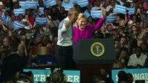 Obama : son vibrant plaidoyer pour Hillary Clinton