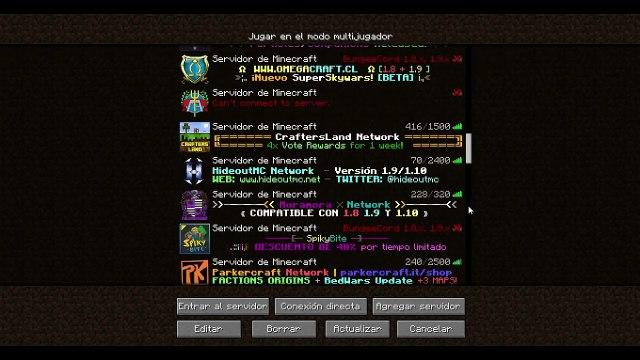 25 servers para minecraft 1.10 no premium!!! con auto-jump  (juegos del hambre, skywars y mucho más)