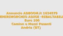 -SEMIRIMORCHIO ADIGE -RIBALTABILE...