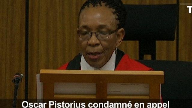 Retour à la case prison pour Pistorius condamné à 6 ans de détention pour meurtre (2)