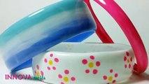 Recyclage de bouteilles plastiques en bracelets !