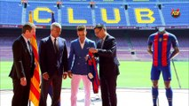 Barça welcomes Denis Suárez