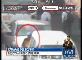 Cámaras del ECU-911 registran impactante robo en Ibarra