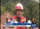 Tras 11 días de búsqueda hallan dos cuerpos en la vía Tena - Loreto