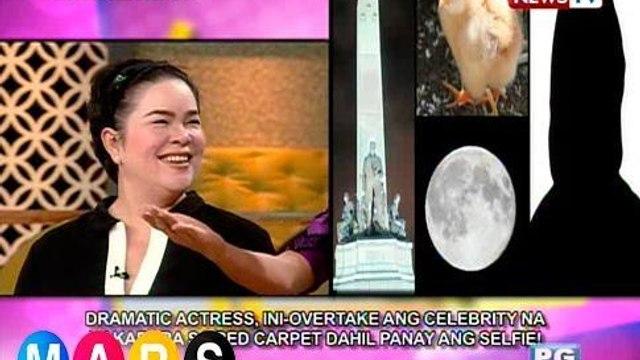 Mars Mashadow: Dramatic actress, inovertake ang celebrity na panay ang selfie!