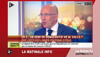 """Éric Ciotti : """"La CGT est un boulet pour la France"""" - Le zapping du 6 juillet"""