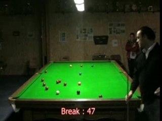 Yannick break 93 snooker