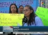Escuelas de México paran labores en apoyo a la CNTE