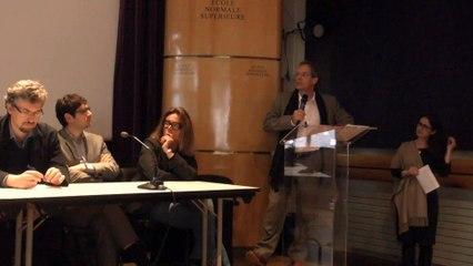 Ouverture des débats avec Marc Mézard et Martine Benayoun