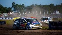 Rallycross Action on an Active Military Base |Red Bull Global Rallycross
