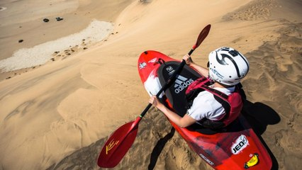 Kayaking the Sand Dunes of Namibia
