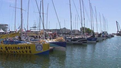 Solitaire Bompard Le Figaro - Départ de la 4ème étape La Rochelle - La Rochelle
