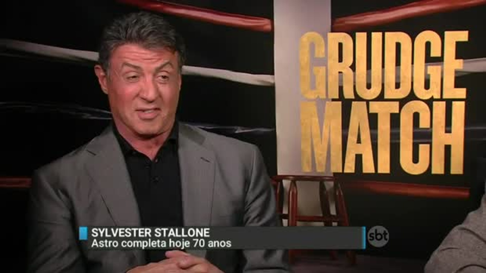 Mesmo aos 70 anos, Sylvester Stallone ainda é símbolo dos filmes de ação