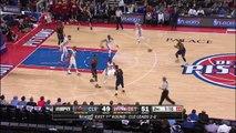 LeBron James Baseline Dunk | Cavaliers vs Pistons | Game 3 | April 22, 2016 | NBA Playoffs