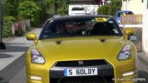 10x Nissan R35 GT-R Litchfield + 3x R33 Skyline V-SPEC - Acceleration Sounds!