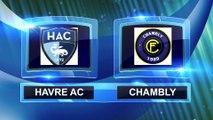 Résumé de HAC - Chambly (2-1) (match de préparation N°1)