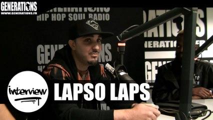 Lapso Laps - Interview #Pacman (Live des studios de Generations)