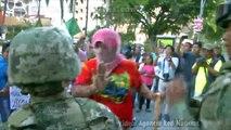 Red Noticias   Marcha de Maestros Costera Miguel Aleman 22 de 06 2016