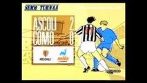 16-04-1989 Ascoli Como 2-0 25^ Giornata Campionato Serie A 1988 1989 Domenica Sportiva