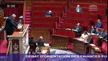 Mon discours lors du débat d'orientation des finances publiques pour 2017 à l'Assemblée nationale (7/7/16)
