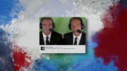 Les commentateurs de M6 prennent cher sur Twitter !