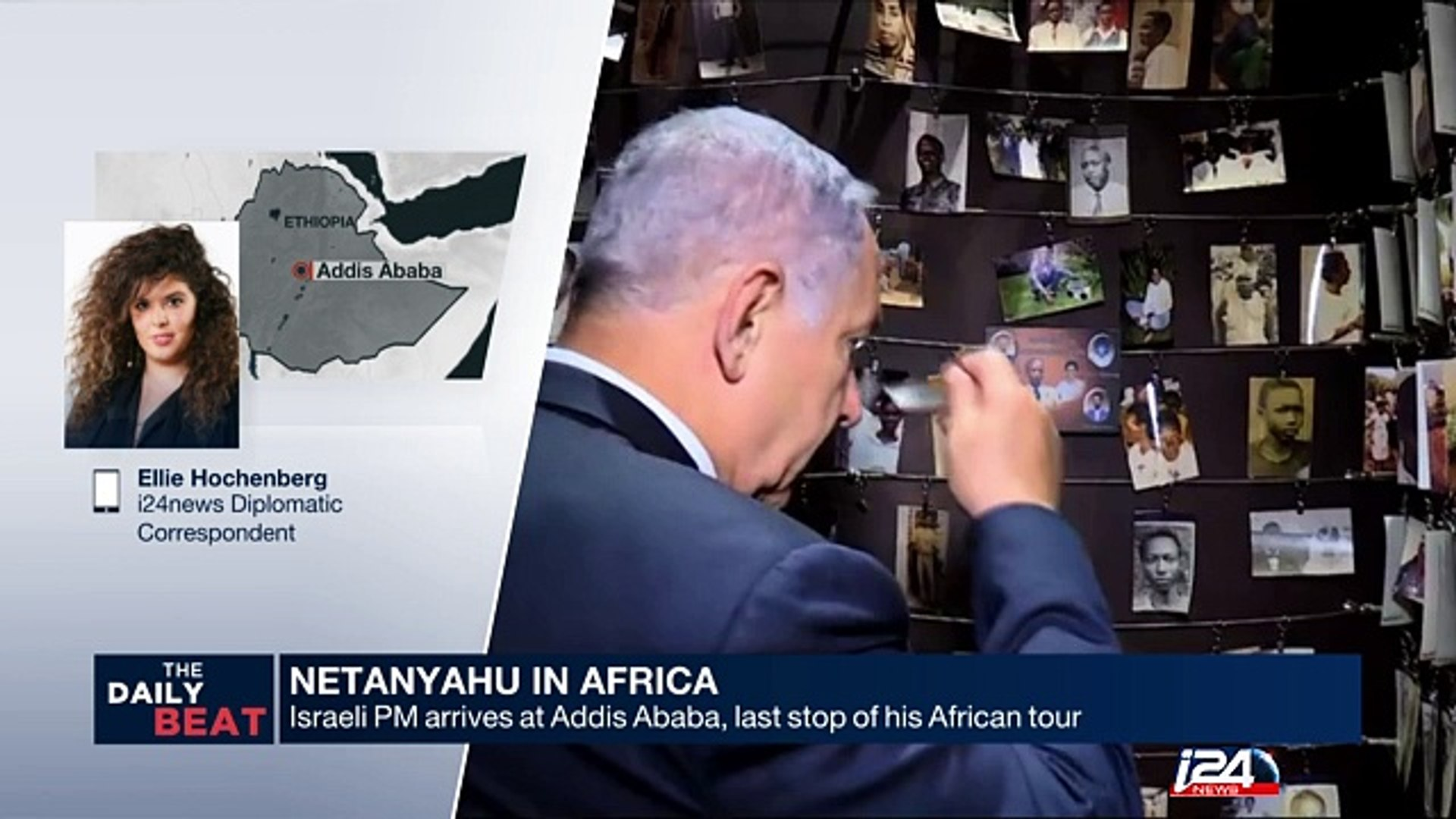 Netanyahu in Africa: Addis Ababa, last stop of his African tour
