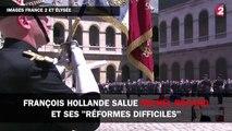 """François Hollande salue Michel Rocard et ses """"réformes difficiles"""""""