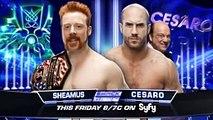 WWE - 2016 Raw, June 9 John Cena, Dean Ambrose & Roman Reigns Vs The Wyatt Family