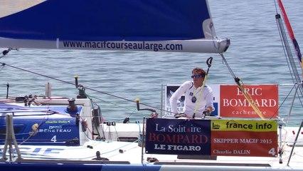 Solitaire Bompard Le Figaro - Sous Spi le long de l'île de Ré