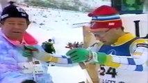 1989 WSC Lahti 15 km F SVAN MOGREN HAALAND
