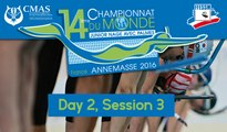 Day 2, Session 3 - 14th World Junior Finswimming Championship