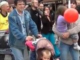 Manifestation Anti-Vivisection à Liège le 17 septembre 2011