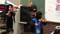 Vincent's Halloween Violin Recital - Song - Perpetual Motion - 10/26/2011 Wednesday