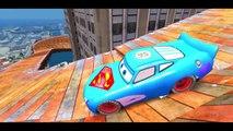 Spiderman & his Super-Auto ft Frozen Elsa Custom McQueen Cars w- Children Nursery Rhyme with Action_4