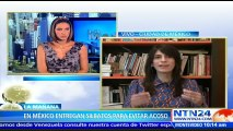 "Entrega de silbatos a mujeres para combatir el acoso en México ""es revictimizante"": co-creadora de 'Estereotipas' a NTN2"