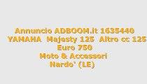 YAMAHA  Majesty 125  Altro cc 125