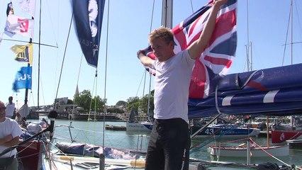 Solitaire Bompard Le Figaro - ITV W. Harris (Artemis 77)