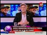 Diego Maradona vs Marcelo Tinelli