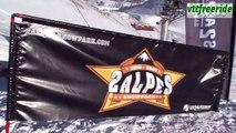 Backflip de 25 m en VTT, sur la neige! Vidéo de ski, snowboard, vtt
