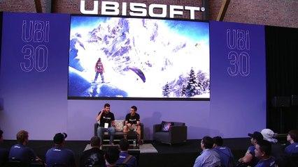 Masterclass at the Ubisoft Lounge 2016 de Steep