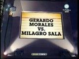 678 17/01/10 MILAGRO SALA: Gerardo Morales Vs  Milagro