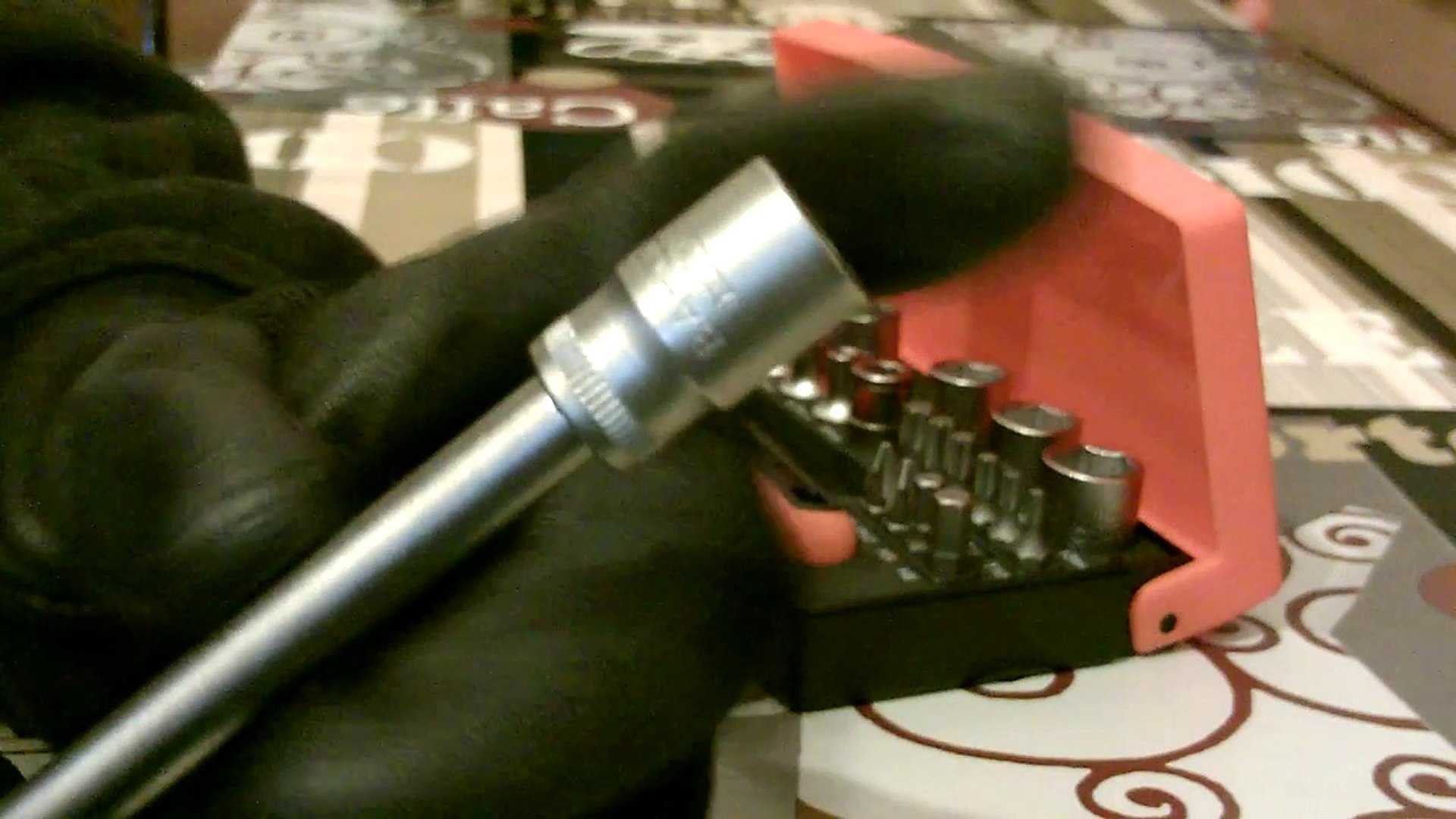 "BlueSpot 13pc Impact Screwdriver Screw Socket Tool With Bits Set 1//2/"" Inch Drive"