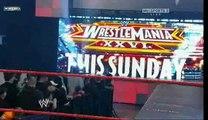 WWE Raw 3/22/10 Batista & John Cena Segment Part 1/2