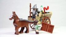 Lego The Lord of the Rings 9469 Gandalf Arrives - Lego Speed build