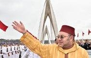 """جلالة الملك محمد السادس يدشن قنطرة محمد السادس على واد أبي رقراق """"أطول جسر معلق بإفريقيا"""""""