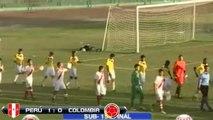Perú vs Colombia 1-0 Resumen & Goles Final Sudamericano Sub-15 | 30/11/2013